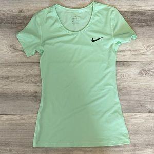 Nike Sea-foam Green Dri-Fit Short Sleeve